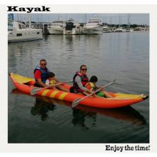 Freizeitboot für 2 Personen 4m Kajak Schlauchboot zum Driften