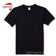 Cotton Black Blank T-Shirts 100%Cotton Fabric