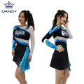 Oberstoff mit Strass Cheerleading Uniform