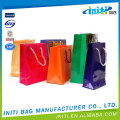 Reusable low price best sale paper gifts packaging bag