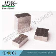 Sharp Diamond Segments for Cutting Granite