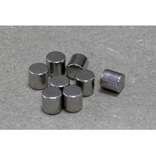 Neodymium Magnet Cylinder Shape with Nickle Coating