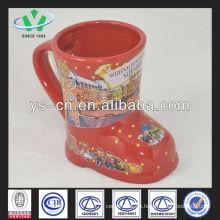 M048 cerámica barata de Navidad conjunto de la taza