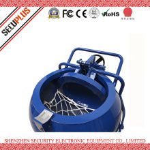 Mobile Bomb Squad Containment Vessel for Safe Transporting and Temporary Storage