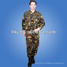 Roupa de camuflagem militar floresta do exército