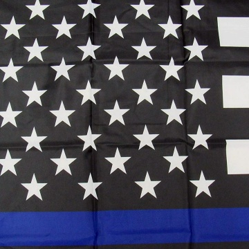 3x5 dünne blaue Linie USA National America Flagge
