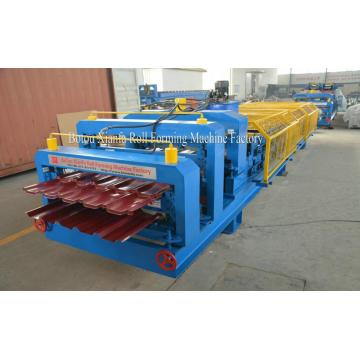 Material de construcción Roof Double Decker Roll Forming Machine