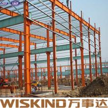 Structure en acier préfabriquée en métal de hangar