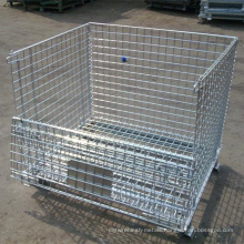 Welded & Folded Storage Wire Mesh Container