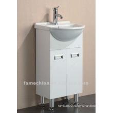 Hot selling white high gloss bathroom vanity