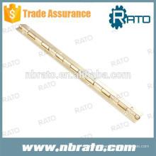 RPH-108 que estampa uma dobradiça de piano de bronze de 15mm de largura