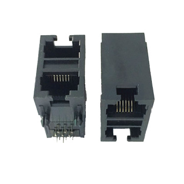 RJ11 JACK Side Entry Full nhựa 2X1P