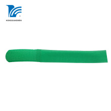 Self Locking Hook Loop Cable Tie Green