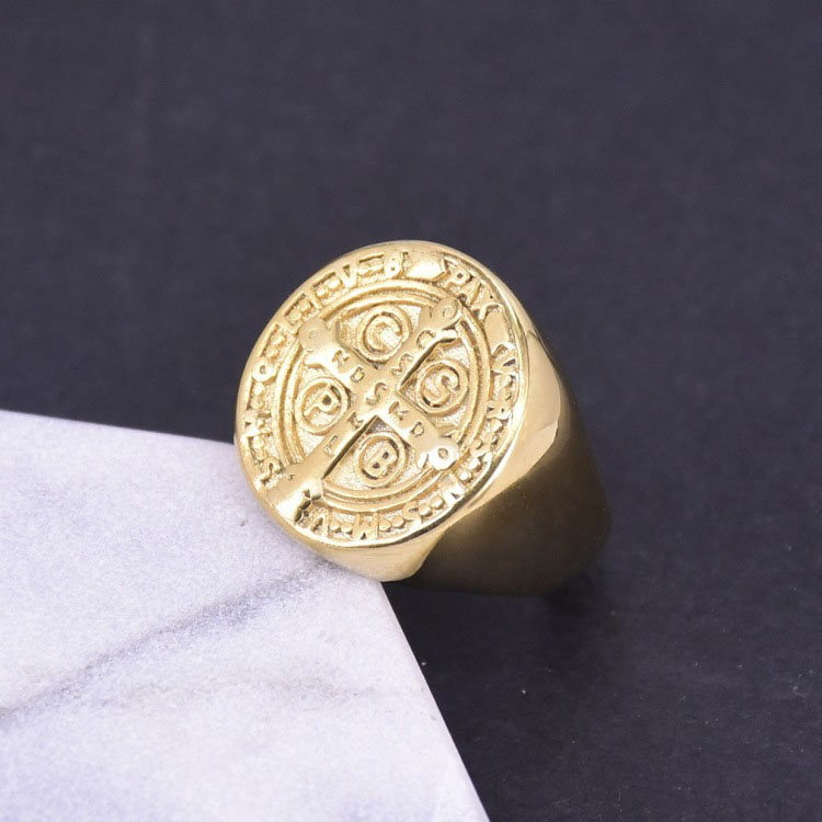 Saint Benedict Exorcism Ring