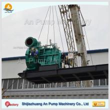 Sandschneider Saug-Dredge Tragbare Kies-Pumpe