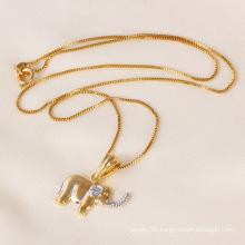 Xuping Fashion Elephant Pendant Jewelry