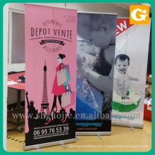 Popular economic rollup banner/roll up standees/pull up