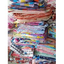Tissu polyester polyester polyester déchets textiles