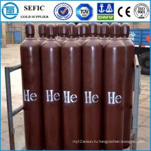 50l высокого давления Безшовная стальная газообразный гелий цилиндра (EN ISO9809)