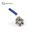 dibuat di Cina 3PC 4 Inch Stainless Steel Ball Valve