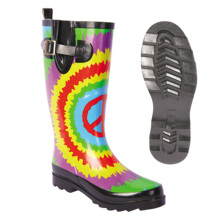 Sunflower Ladies rain Rubber boots OEM Item