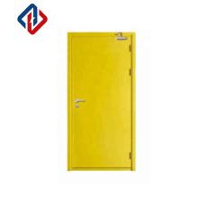 EN1634 factory direct sale 30mins single leaf fire resistant security doors with lockset