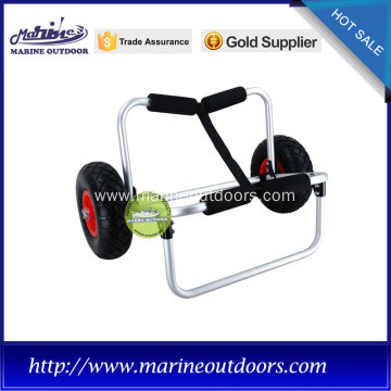 Folding beach cart, Hot-selling kayak trolley , boat trailer with wheels