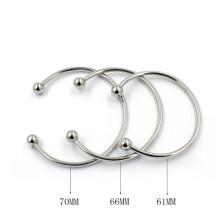 Braceletes simples para crianças Presentes de Natal pulseira de cobre ajustável