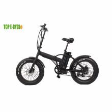 Custo-benefício 20 '' bicicleta de neve de pneu de praia cruiser elétrico
