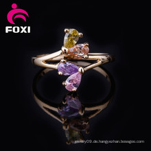Neueste Design 18 Karat vergoldete Schmuck Ringe