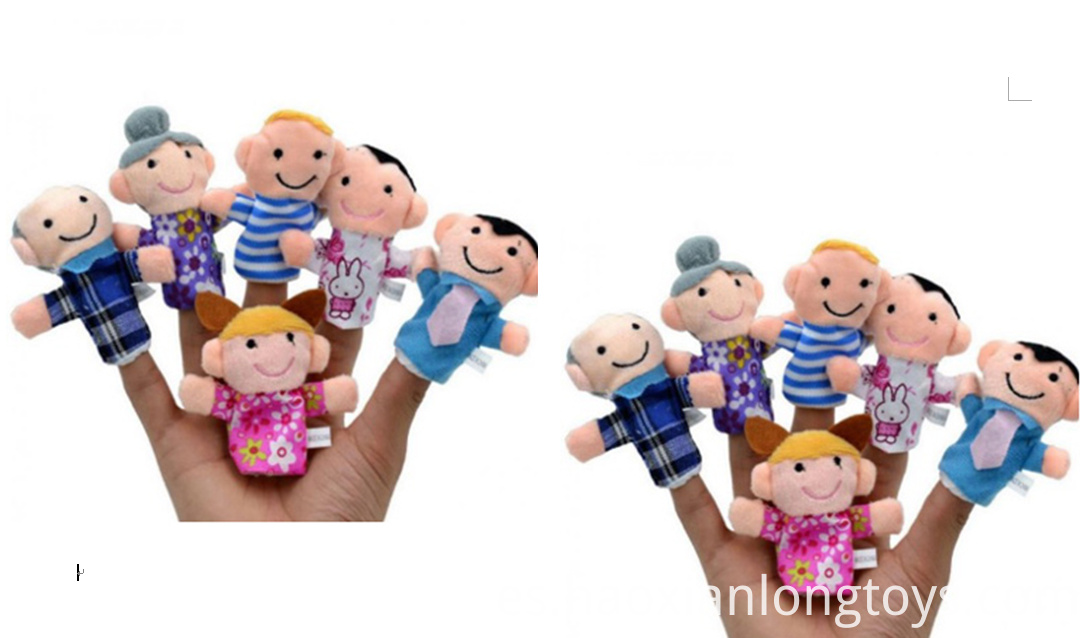 Family member finger doll