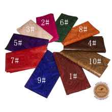 2017 Latest Design Guinea Brocade Dresses 100% cotton fabric for party