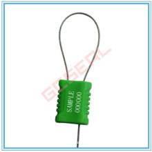 Precinto de seguridad Cable revestido de plástico con cable de 1mm de diámetro
