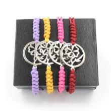 Bracelet en tissu pur pour hommes et femmes Bracelets réglables