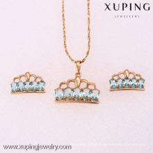 62126-Xuping Nice mariée couronne impériale ensemble de bijoux pour fille Lady