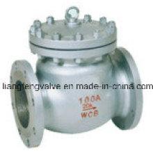 Válvula de retención de brida de brida de acero carbono JIS
