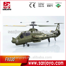 FX035 4 channel Single blade rc comanche helicopter