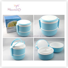 Double-Layer Food Grade Plastic Thermal Lunch Box