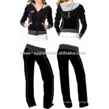 velour tracksuit sports suits