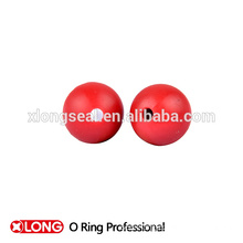 Special design high quality light red rubber ball