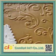 Chinese Fashion PU Vinyl With Embossing
