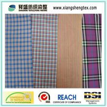 Garn gefärbte Seide-Baumwolle Paj / Seide Check / Baumwolle Check Stoff