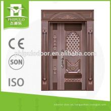 Puerta de hierro a prueba de balas de 1,0 mm de espesor de Yongkang