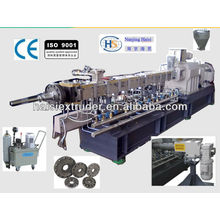 SHJ-65 co-rotating twin-screw machines to make wood plastic pellets