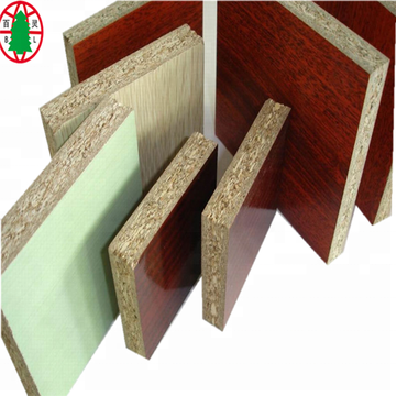 Wood Fiber High Quality Melamine Laminated Chipboard