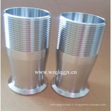 Raccord d'étanchéité sanitaire en acier inoxydable Wenzhou