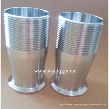 Acero inoxidable sanitario abrazadera manguera de acoplamiento de tubo Wenzhou