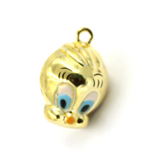 Fashion Small Yellow Duck Shaped Charms Handbag Pendant for Keychain