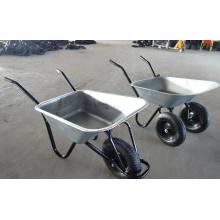 Carrinho de mão de rodas duplas de fornecimento de fabricante para o mercado europeu (WB6406)