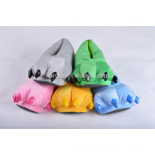 cute plush claw colorful warm soft sole indoor casual shoes slipper